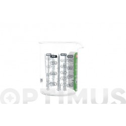 MEDIDOR VIDRIO PYREX 0,25 L